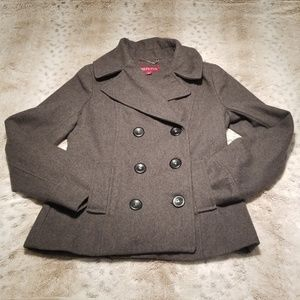 Merona Grey Double Breasted Pea Coat